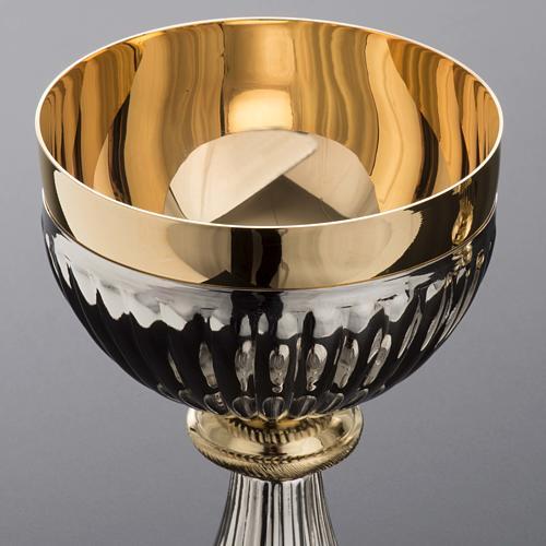 Chalice and Ciborium in brass, empire style 5