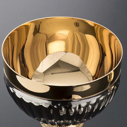 Chalice and Ciborium in brass, empire style 7