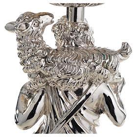Cáliz de plata 800 Buen Pastor filigrana s16