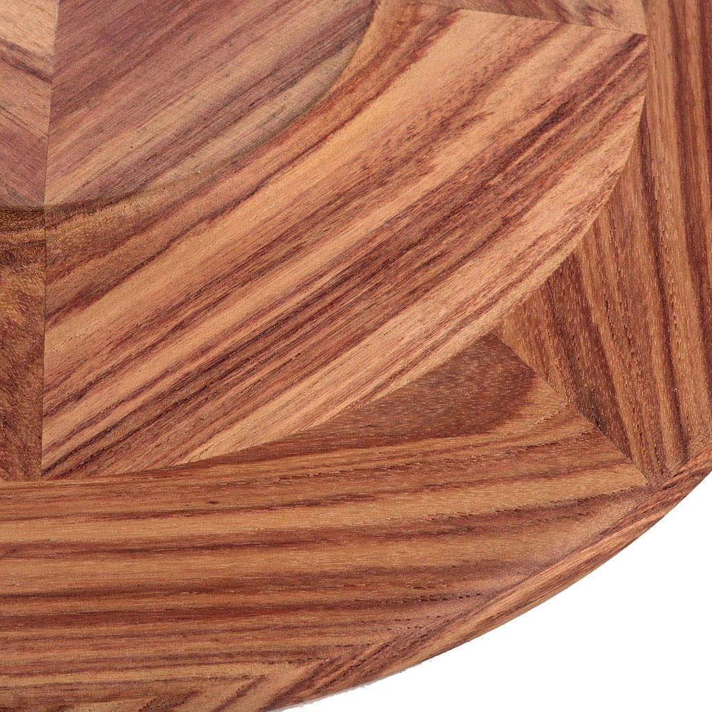 Patena de metal y madera Mod. Essentia 4
