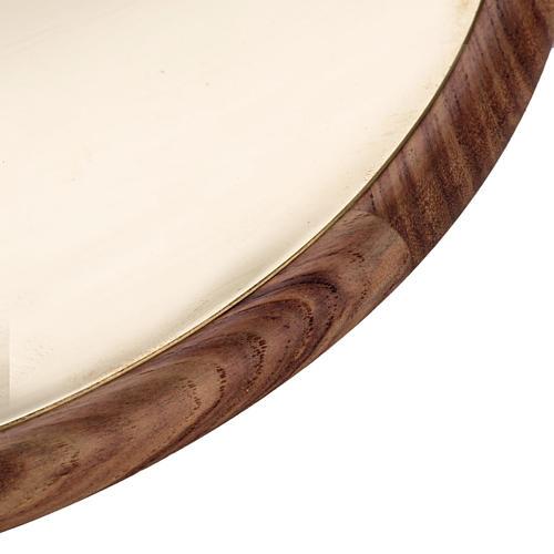 Patena de metal y madera Mod. Essentia 2