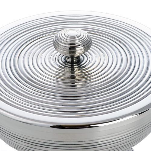 Ziborium versilbertes Metall Modell Undae