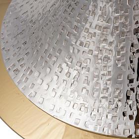 Kielich model Ventus metal posrebrzany pozłacany s4