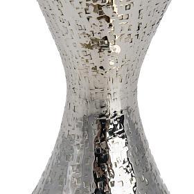 Kielich model Ventus metal posrebrzany pozłacany s6