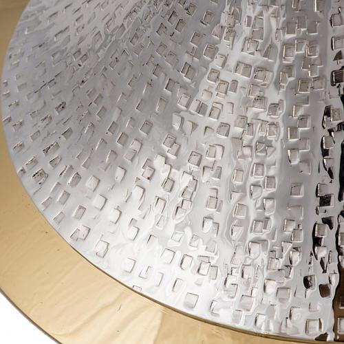 Kielich model Ventus metal posrebrzany pozłacany 4
