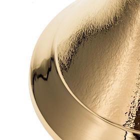 Pisside zigrinata oro  h. 26 cm s3