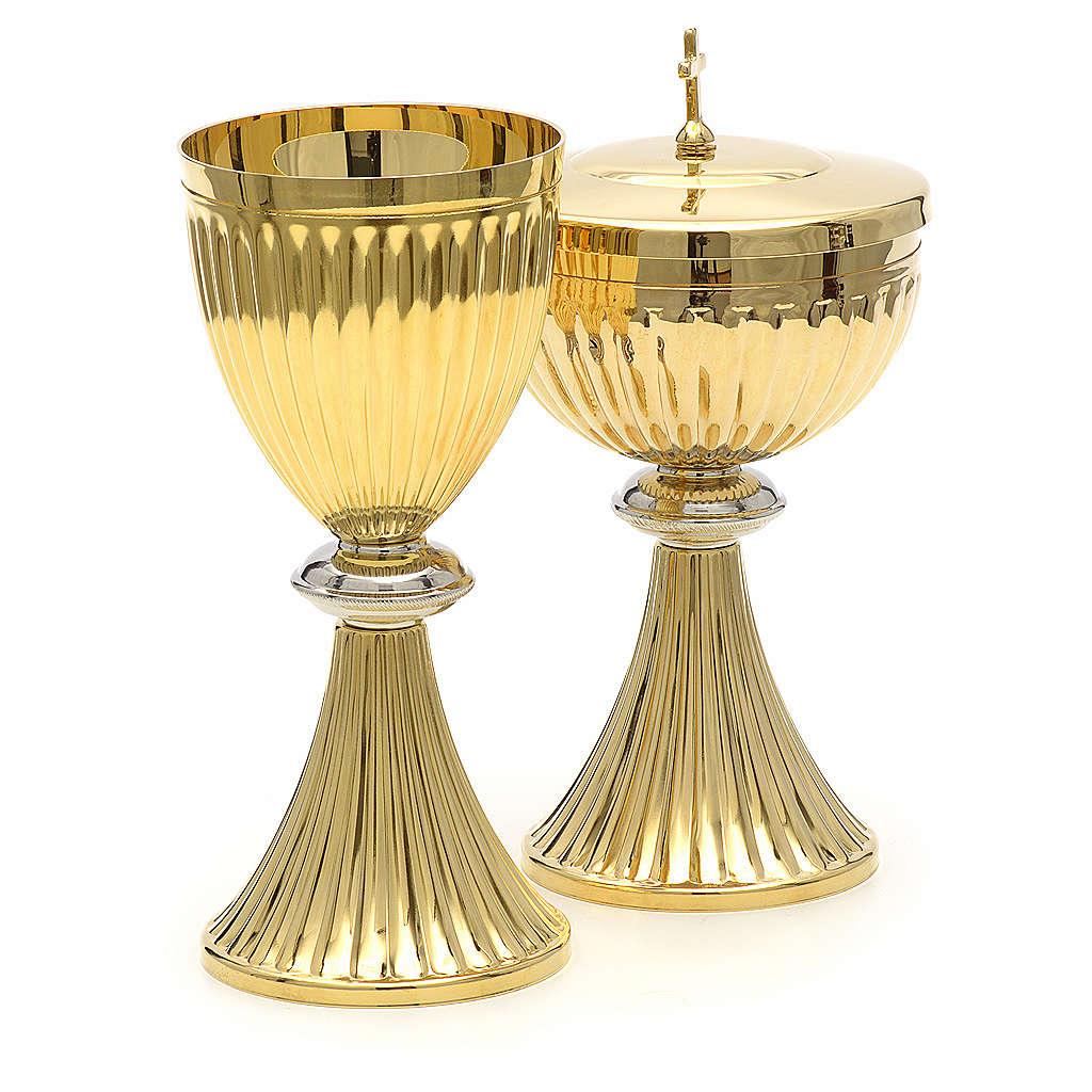 Calice pisside stile impero oro 4