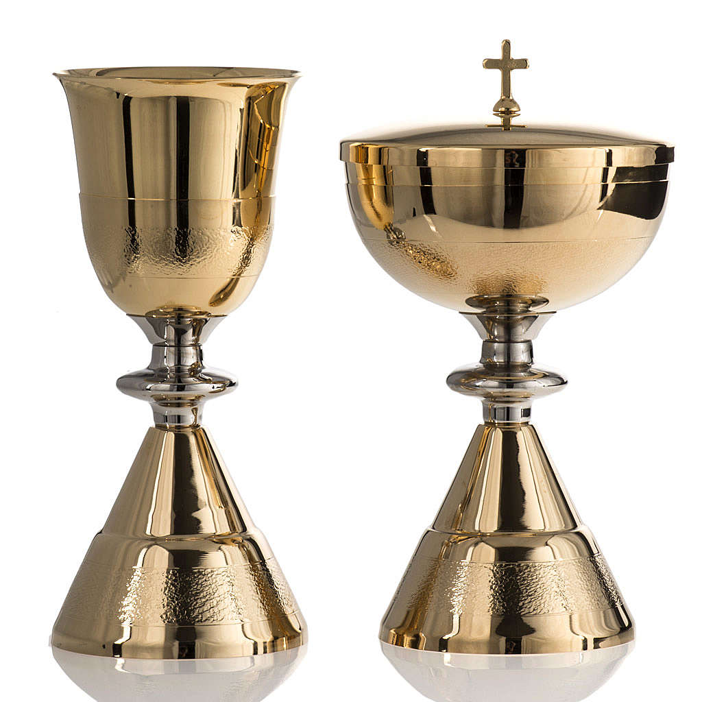 Chalice and Ciborium, Knurled finishing 4