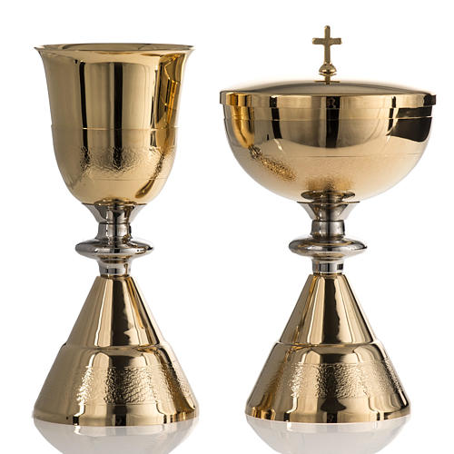 Chalice and Ciborium, Knurled finishing 1