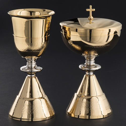 Chalice and Ciborium, Knurled finishing 2
