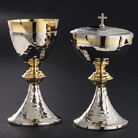 Chalice and Ciborium, hammered finishing s2