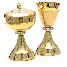 Calice e pisside doppia finitura oro s3