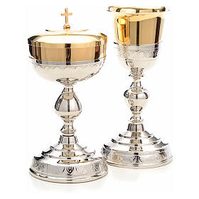 Chalice and Ciborium, leaves decoration s3