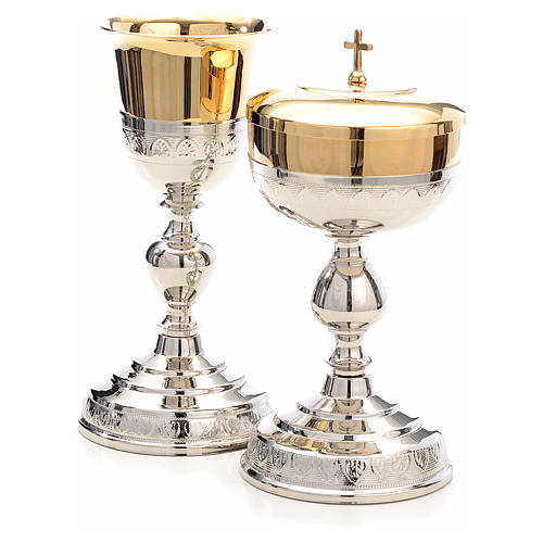 Chalice and Ciborium, leaves decoration 2