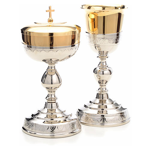 Chalice and Ciborium, leaves decoration 3