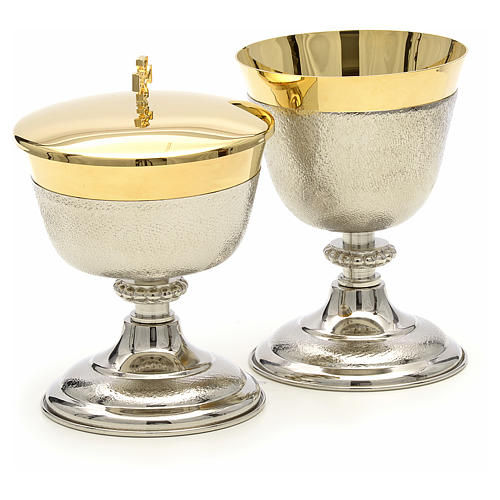 Chalice and Ciborium in brass, two colors finishing 3