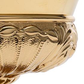Patena Molina ottone dorato decori s3