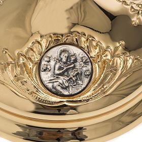 Calice Molina ottone dorato Gesù Giuseppe Maria s3