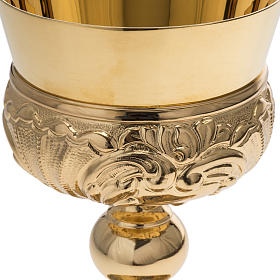 Calice Molina ottone dorato Gesù Giuseppe Maria s6