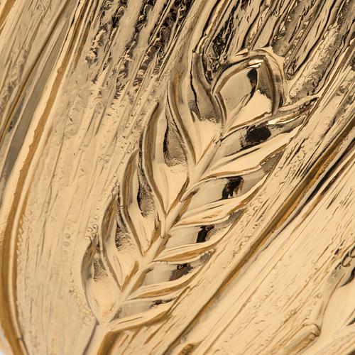 Calice ciboire patène Molina laiton épis 4
