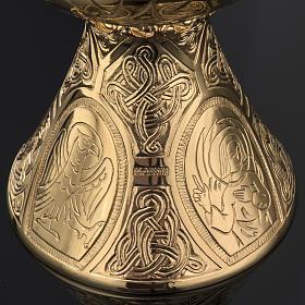 Cálice Molina latão dourado Última Ceia s6