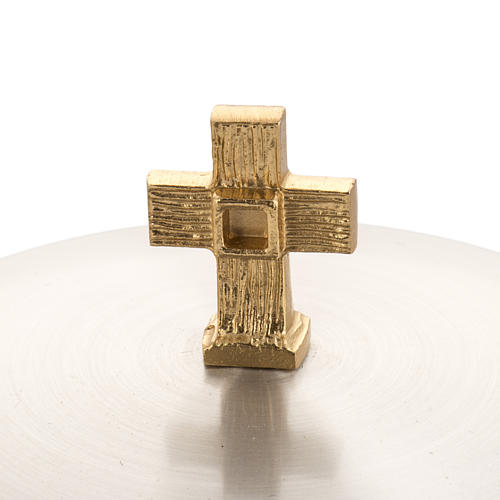 Chalice and ciborium, with 24K gold plating, polished brass 3