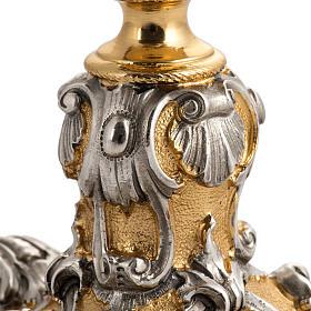 Calice barocco in bronzo Gesù Giuseppe Maria s6
