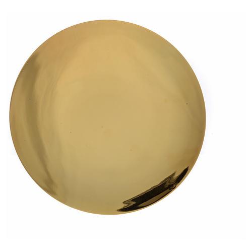 Patena argento 800 dorato 4
