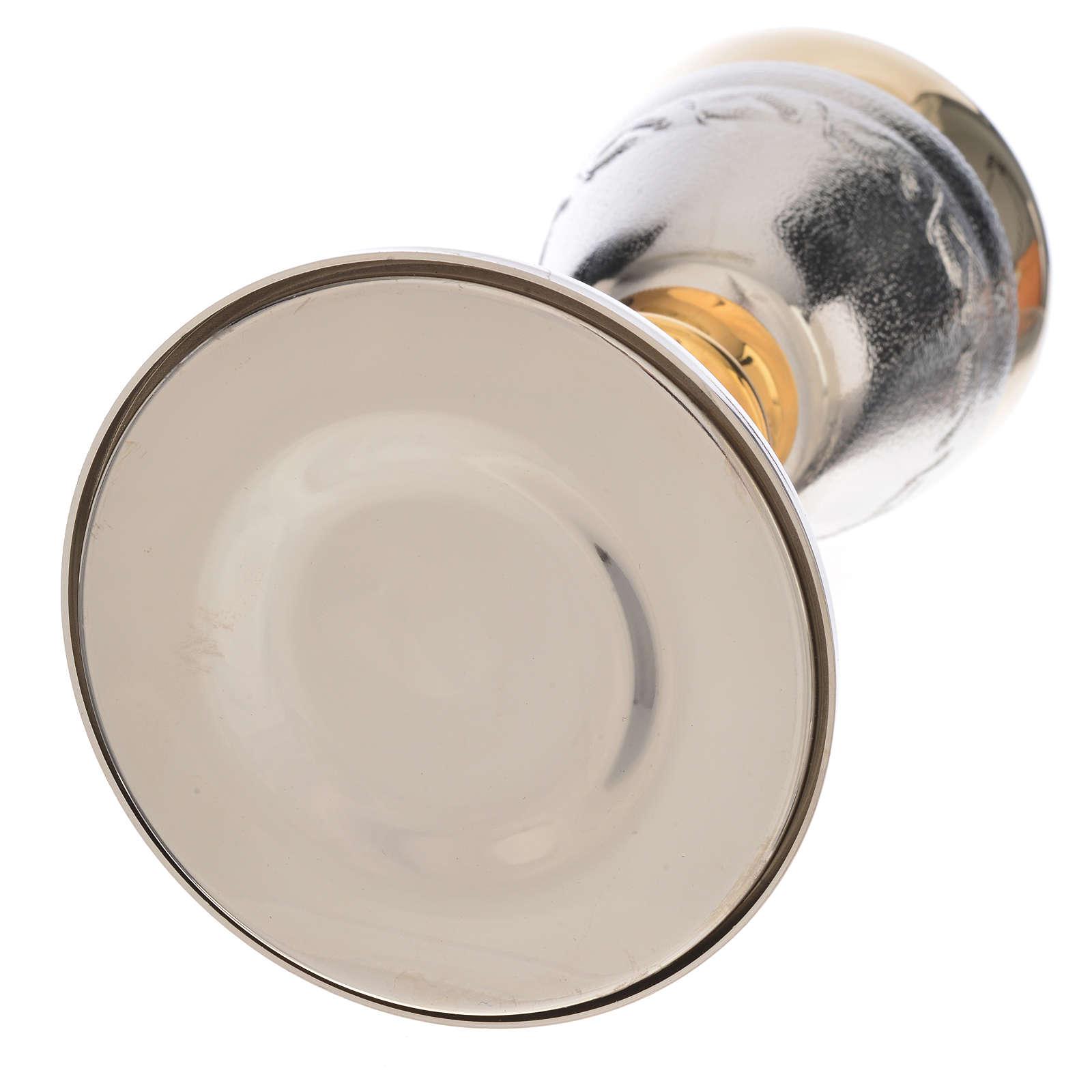 Calice Pisside lavorazione spighe di grano 4