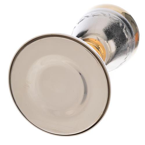Calice Pisside lavorazione spighe di grano 6