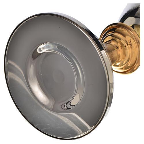 Calice Pisside lavorazione spighe grano ottone 6