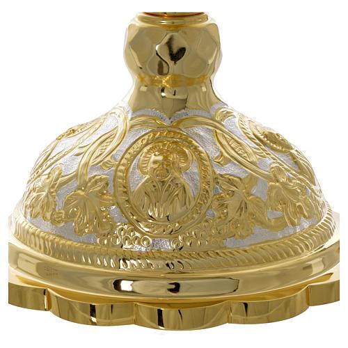 Set cáliz disco  cubiertos litúrgica Ortodoxa 4