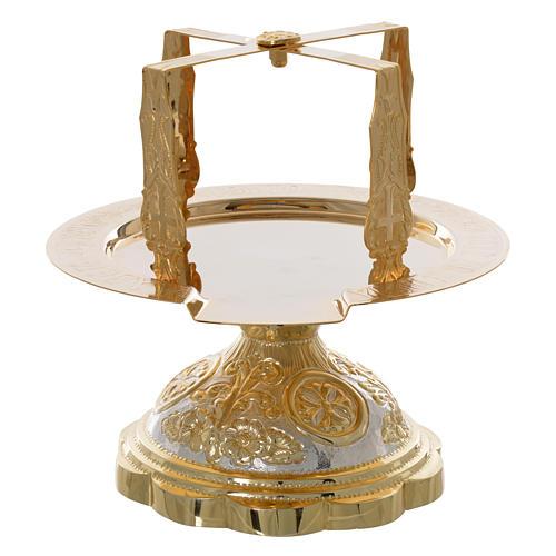 Set cáliz disco  cubiertos litúrgica Ortodoxa 5