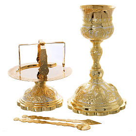 Set calice diskos couverts Liturgie Orthodoxe s1