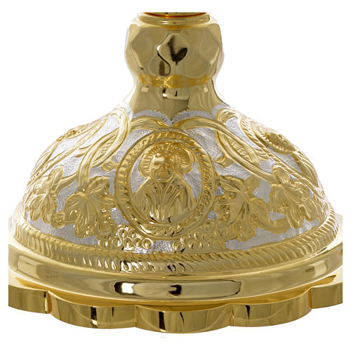 Set calice diskos couverts Liturgie Orthodoxe 4