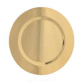 Paten smooth and shaped brass, 11cm s1