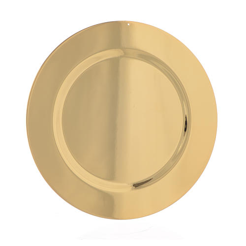 Paten smooth and shaped brass, 11cm 1
