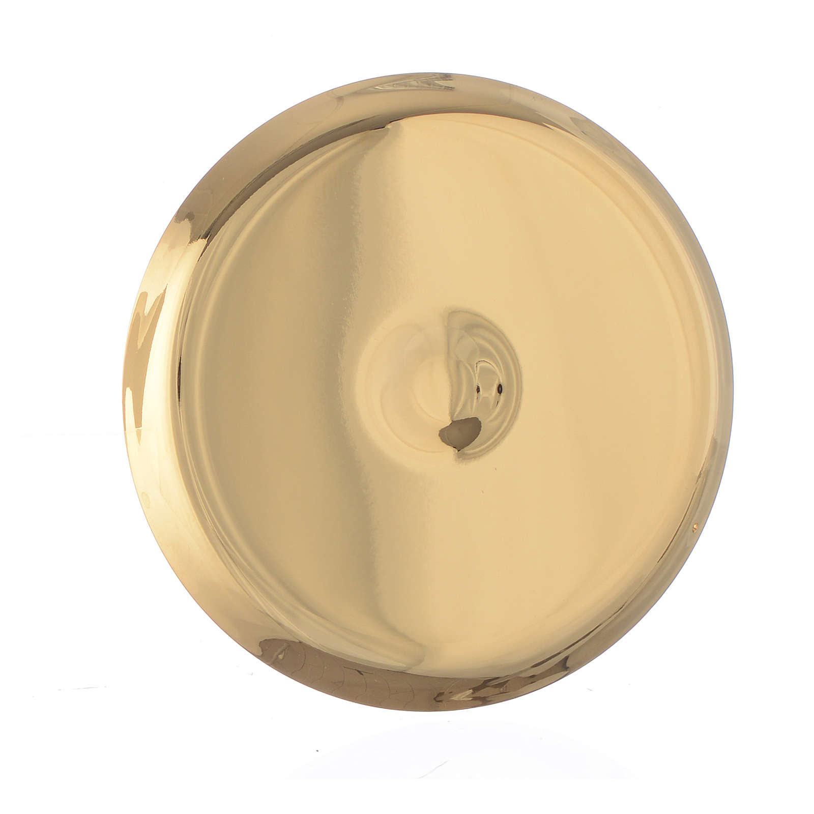 Mini paten in brass, 7cm diameter 4