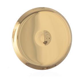 Mini paten in brass, 7cm diameter s2