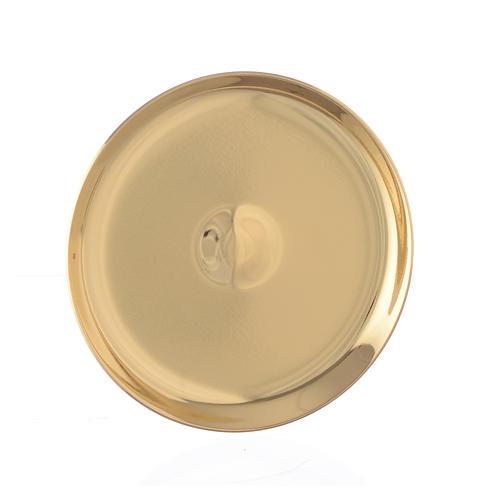 Mini paten in brass, 7cm diameter 1