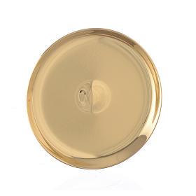 Patena mignon ottone diam 7 cm s1