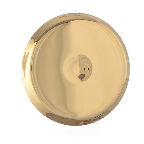 Mini paten in brass, 7cm diameter 2