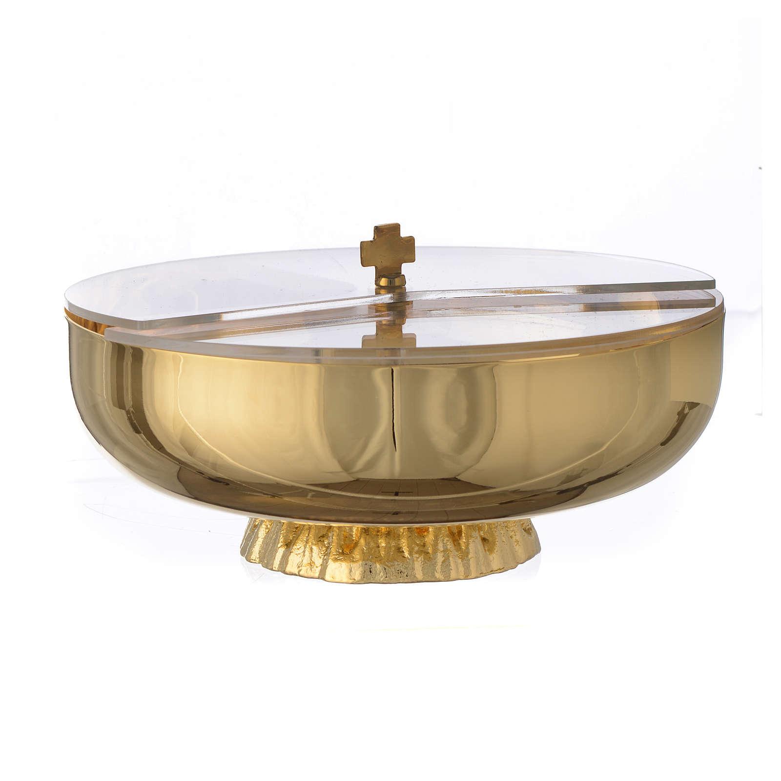 Transparent plexiglass ciborium lid, 14cm diameter 4