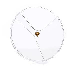 Transparent plexiglass ciborium lid, 14cm diameter s1