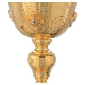 Calice con angeli Molina ottone dorato s3