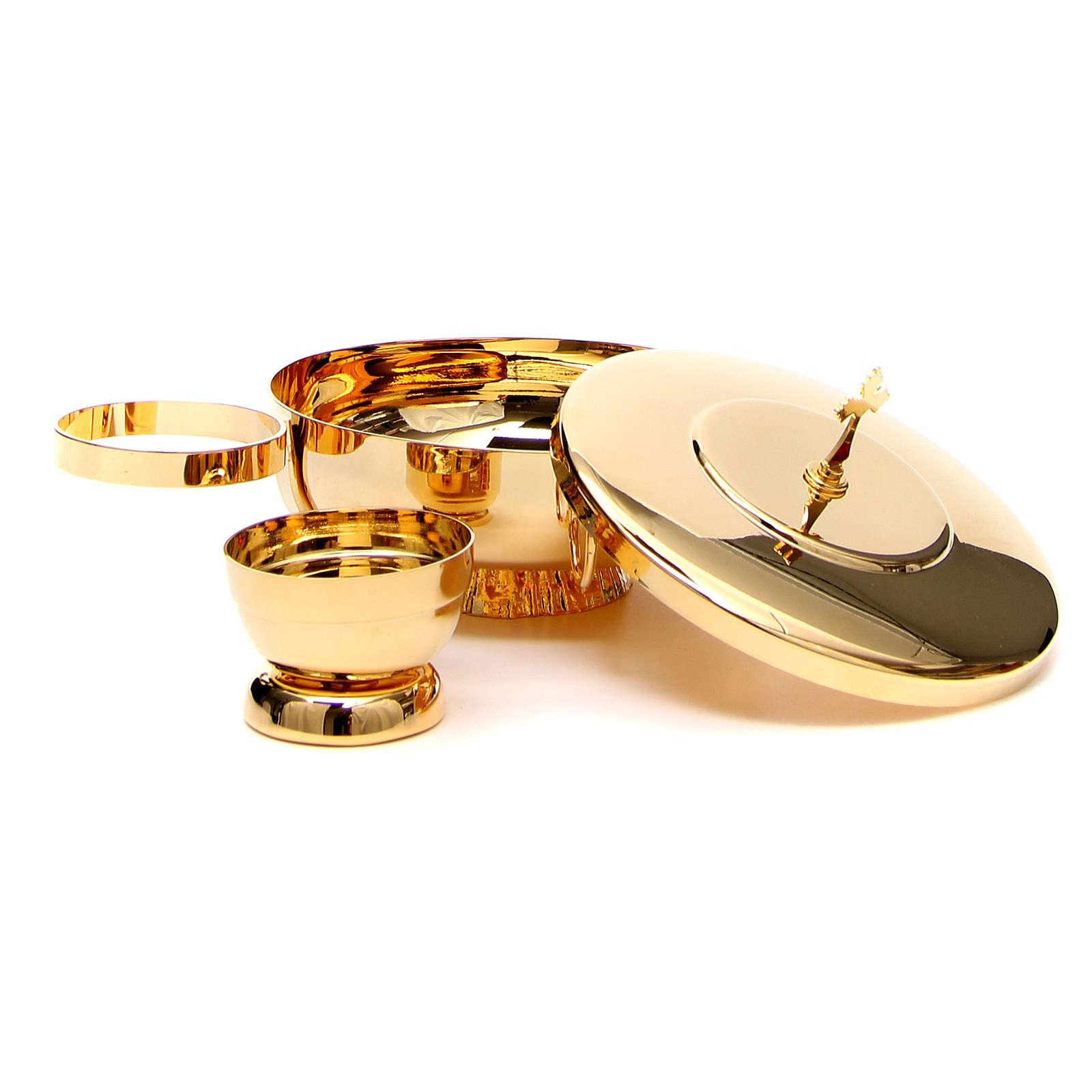 STOCK Completo 2 specie ottone con anello 4