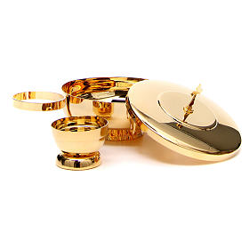 STOCK Completo 2 specie ottone con anello s2