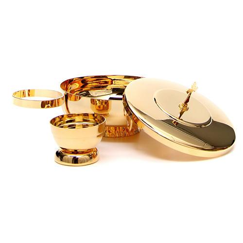 STOCK Completo 2 specie ottone con anello 2