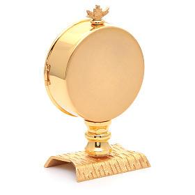 Calice conico ottone dorato Angeli s6