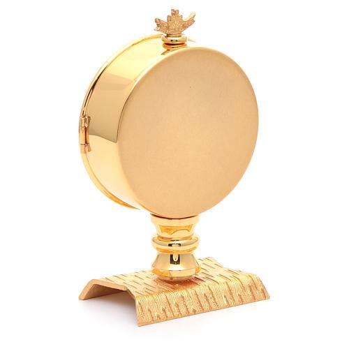 Calice conico ottone dorato Angeli 6